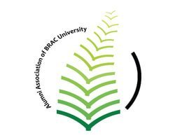 alumni university of brac university logo