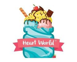 heart world logo