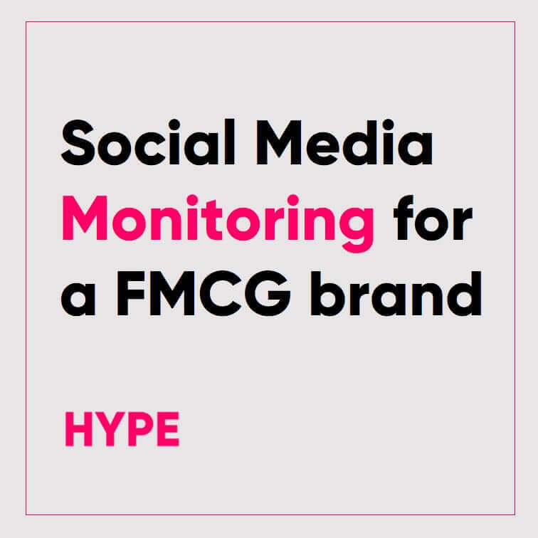 Social Media Monitoring for a FMCG Brand in Bangladesh