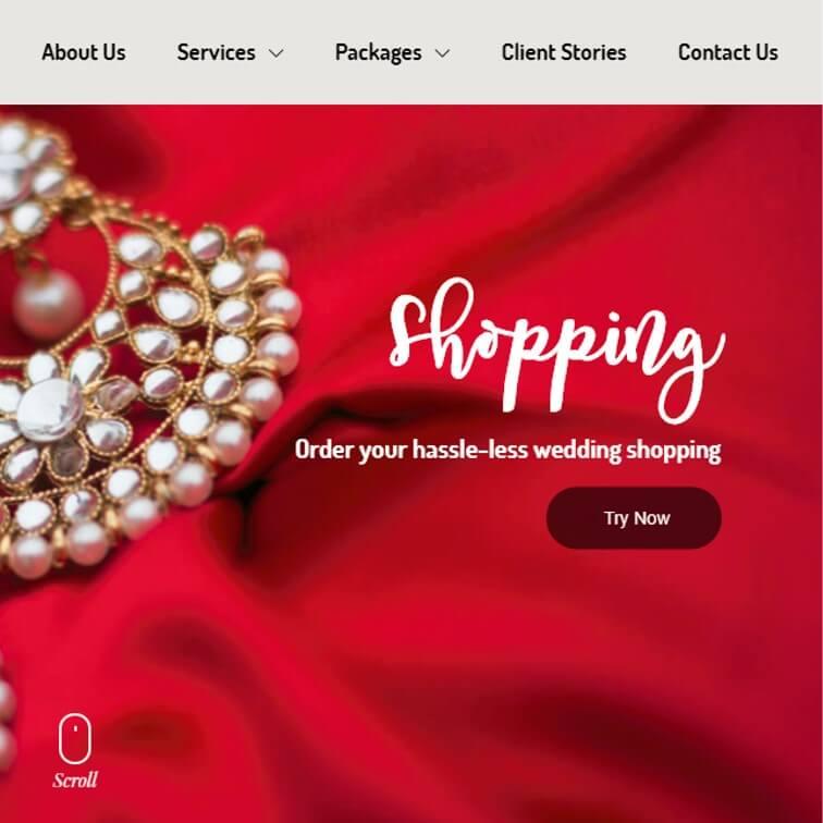 Wedding Trunk Website