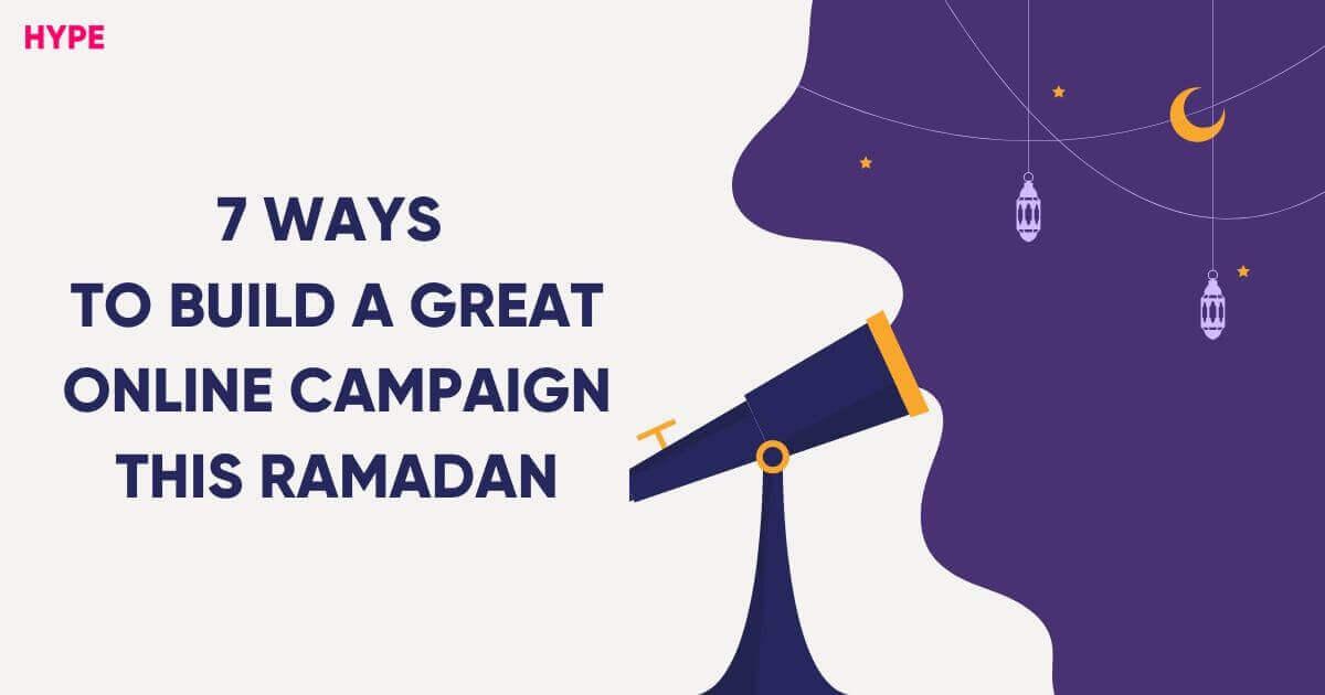 Idea for Ramadan Campaign