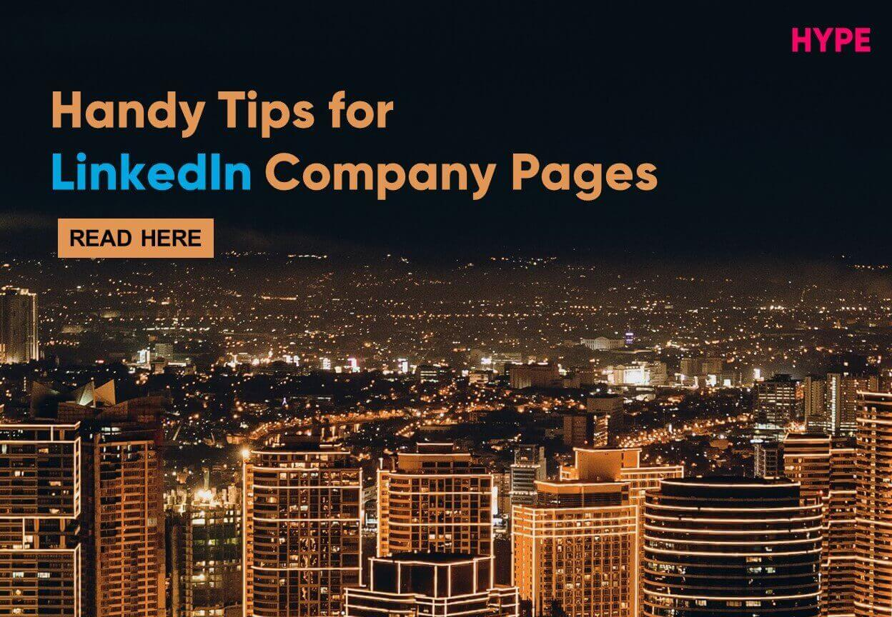 Tips for LinkedIn Company Pages Blog Cover