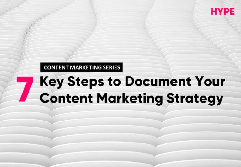 Documenting Content Marketing Strategy