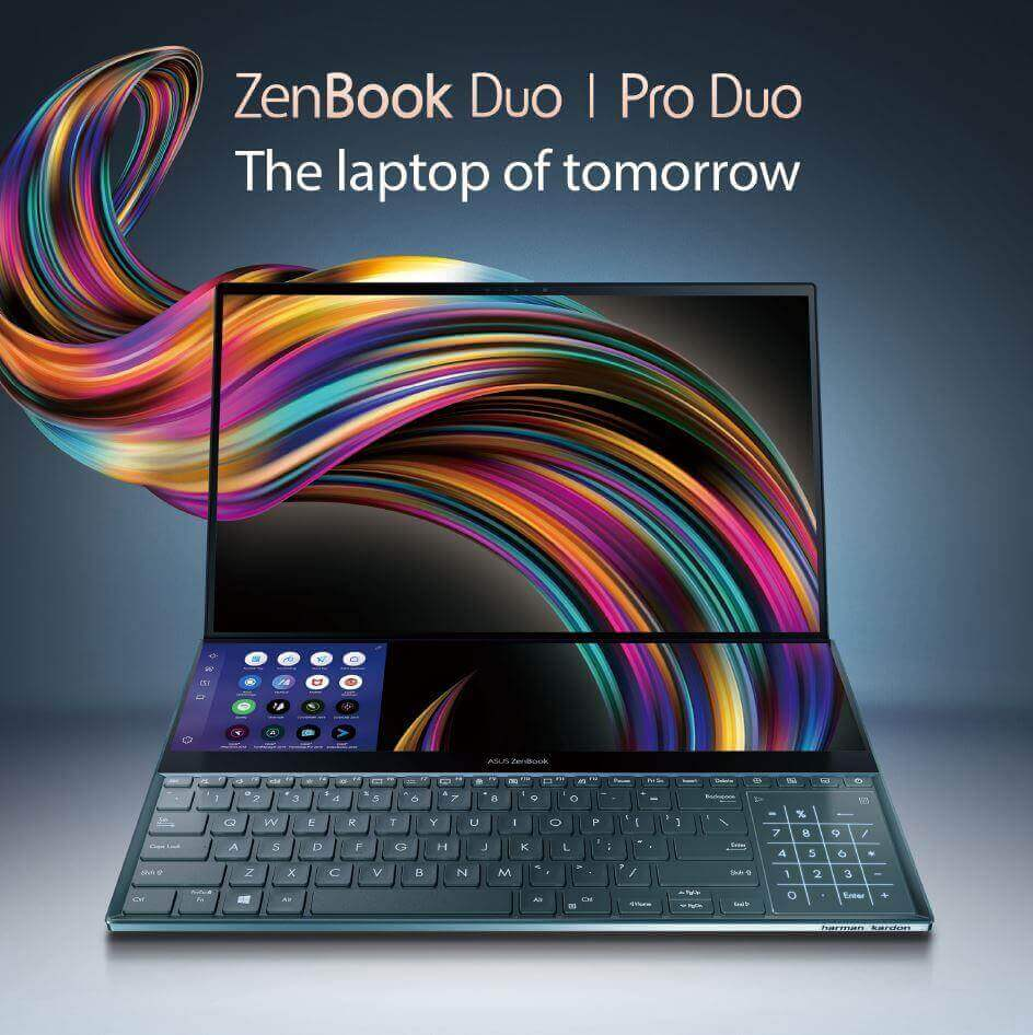 ZenBook Pro Duo Launch