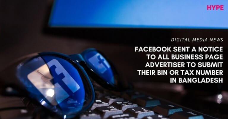 VAT ON FACECBOOK ADS