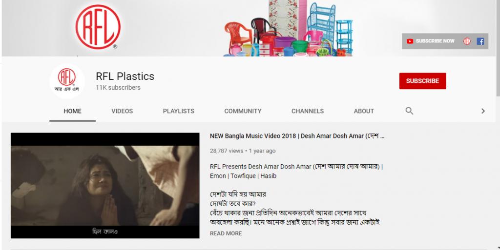 Digital marketing- RFL- Bangladesh