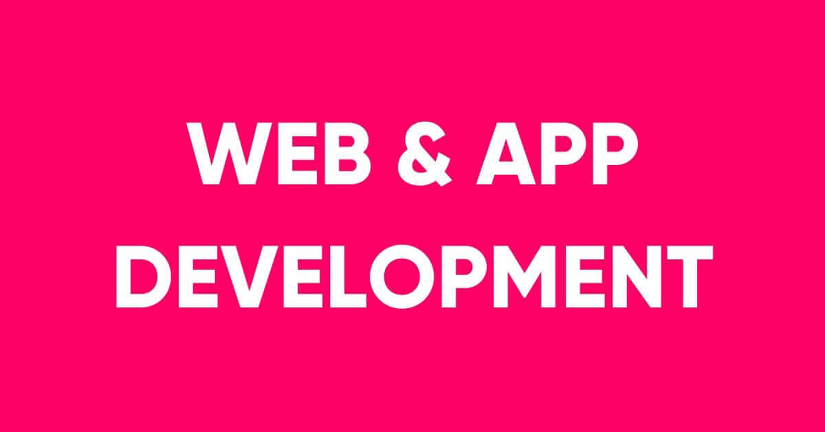 Web & app development service in Dhaka