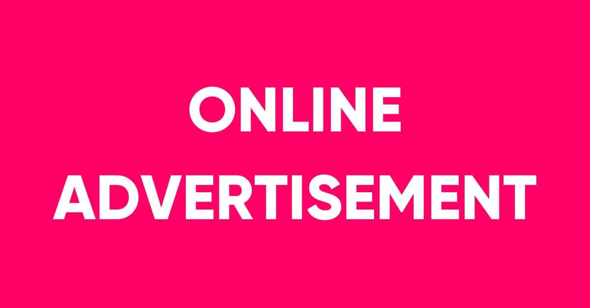 Online Advertisement service in Dhaka
