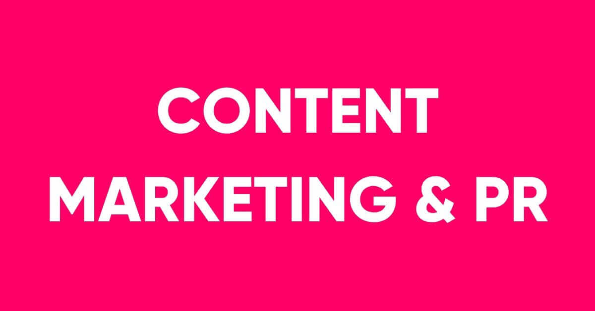 Content Marketing & PR Service in Dhaka
