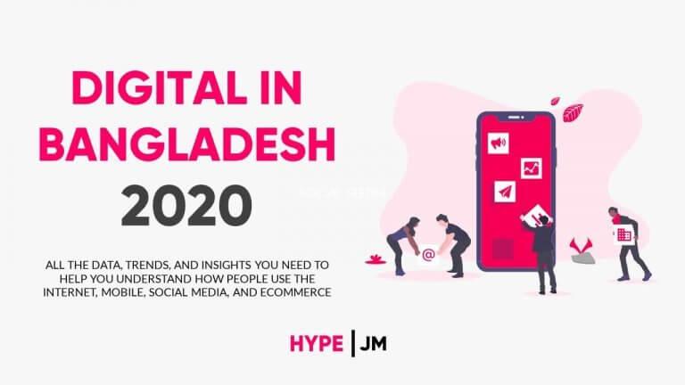 DIGITAL & SOCIAL MEDIA DATA BANGLADESH 2020