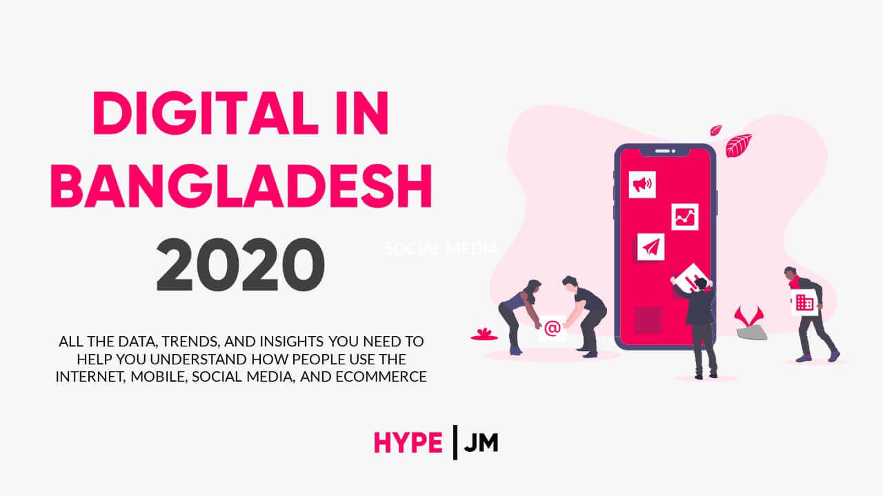 DIGITAL & SOCIAL MEDIA DATA BANGLADESH 2020