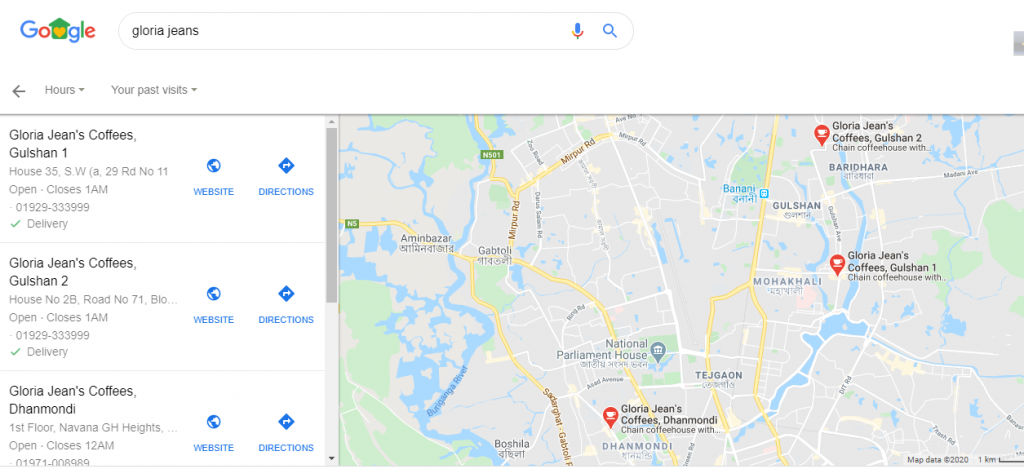 Gloria Jeans Bangladesh on Google Maps