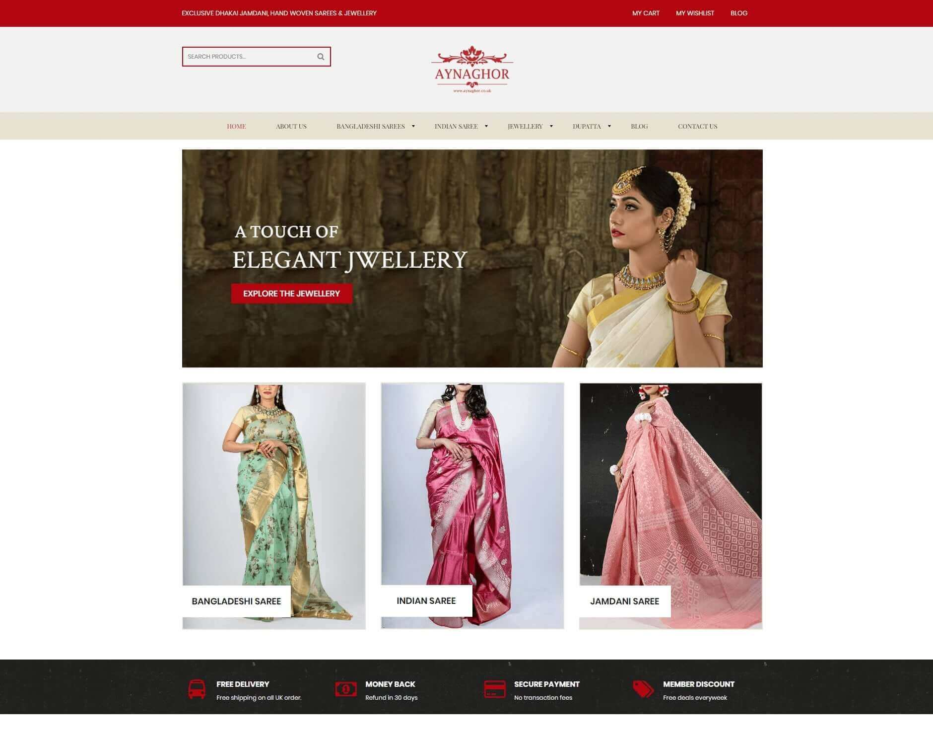 Aynaghor uk website development