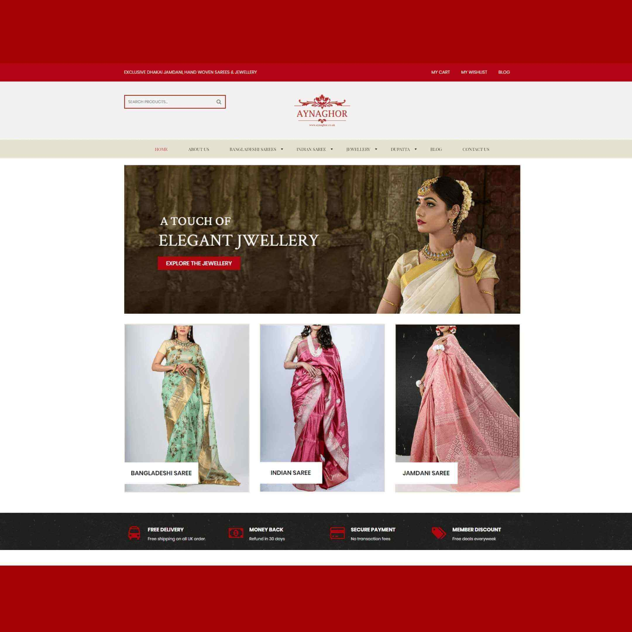 Clothing eCommerce site Development in Bangladesh