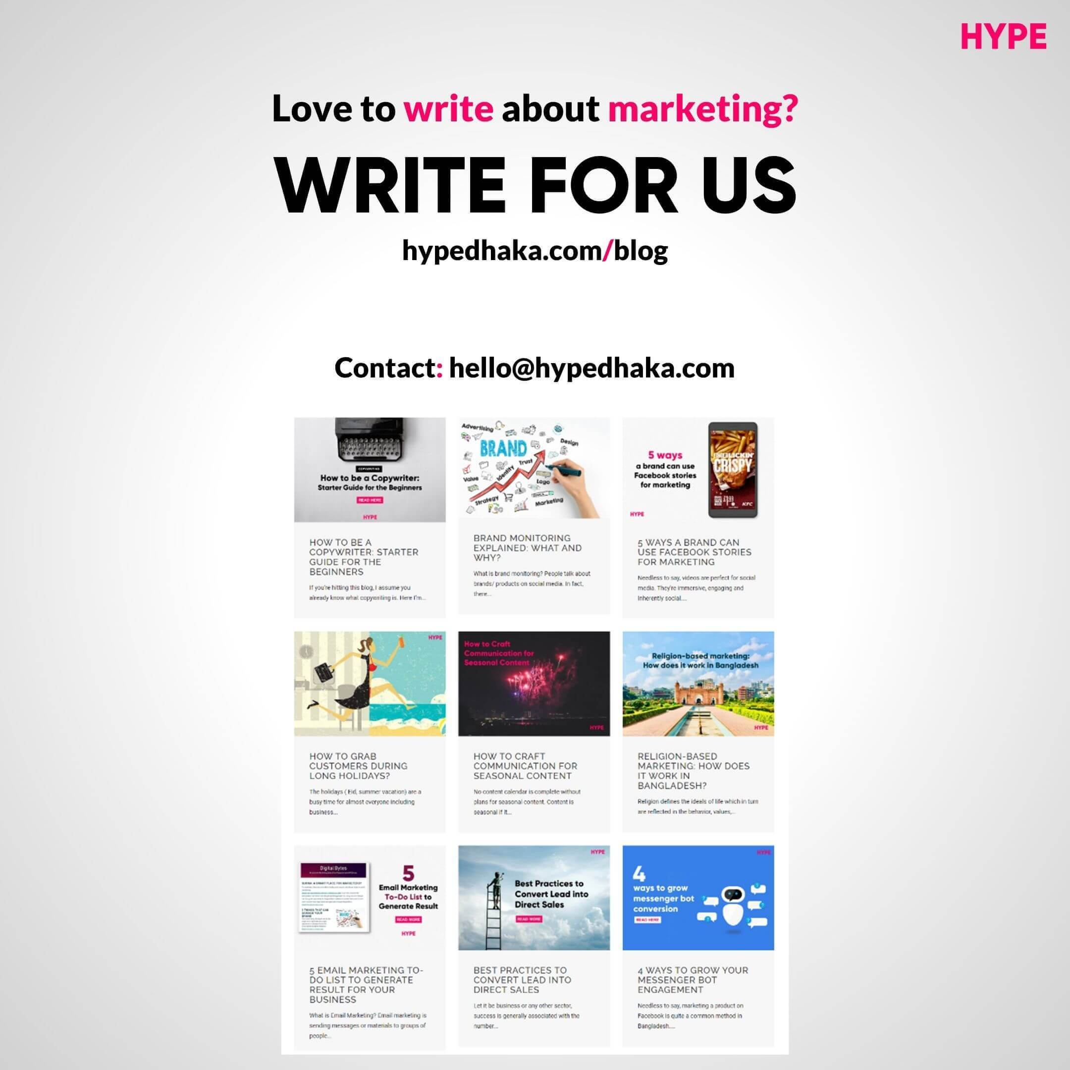 Write for us - Guest Posts cover