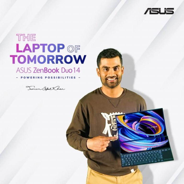 Tamim Iqbal ZenBook Campaign