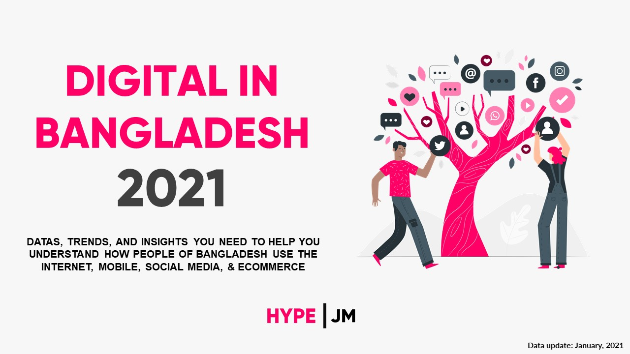 DIGITAL IN BANGLADESH 2021 Report Cover